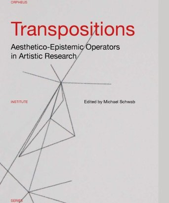 Transpositions: Aesthetico-Epistemic Operators in Artistic Research