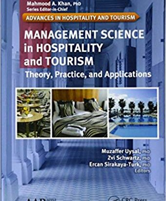 Management Science in Hospitality and Tourism: Theory